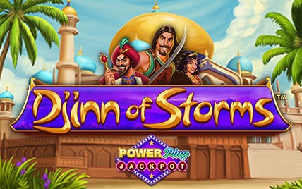 Djinn of Storms PowerPlay Jackpot