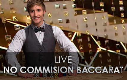 Live no Commission Baccarat