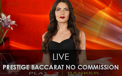 Live Prestige Baccarat no Commission